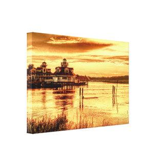 Coucher du soleil Smithfield - copie de toile