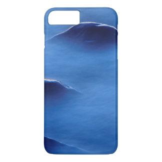 Coucher du soleil sur des roches dépassant par coque iPhone 7 plus