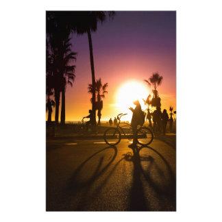 coucher du soleil Venise Papiers À Lettres