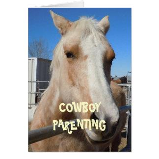 Couches-culottes de bébé - Parenting de cowboy Cartes