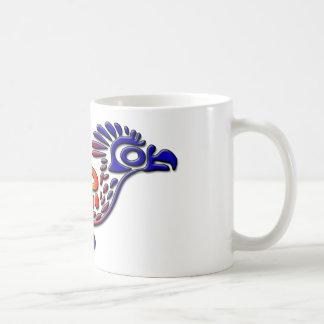 Coucou terrestre antique de conception du Mexique Mug