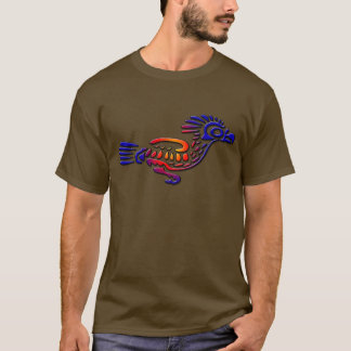 Coucou terrestre antique de conception du Mexique T-shirt