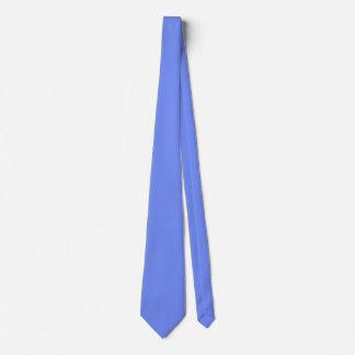 Couleur bleue d'une manière amusante populaire cravate