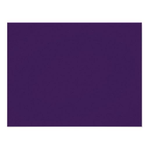 Couleur d 39 arri re plan aubergine carton d 39 invitation 10 79 cm x 13 97 cm zazzle for Aubergine couleur