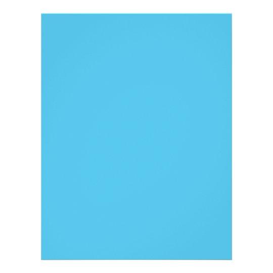 Couleur d'arrière - plan - turquoise prospectus 21,6 cm x 24,94 cm