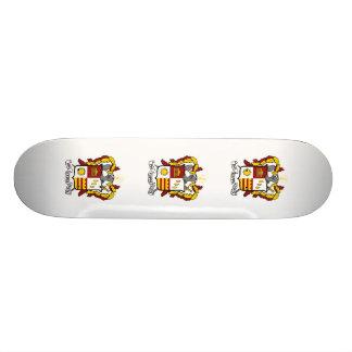 Couleur de crête de PKT Plateaux De Skateboards Customisés