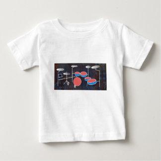Couleur de percussion t-shirt pour bébé