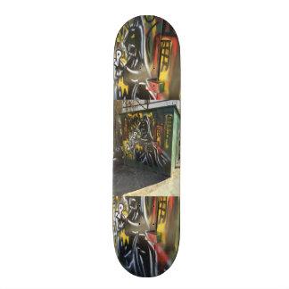 Couleur de rue skateboards personnalisables