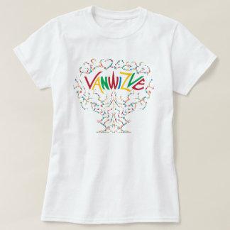 Couleur de Vanwizle d'Afro T-shirt