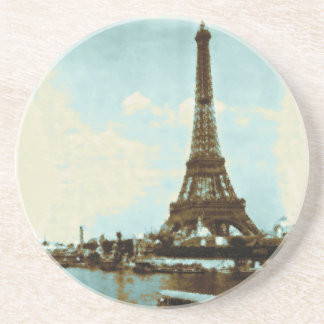 Couleur d'eau vintage de Paris Dessous De Verre