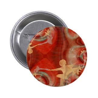 Couleur D'une Danse De Ballet 3 Badges