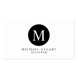 Couleur faite sur commande minimaliste moderne carte de visite standard