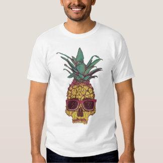 Couleur faite sur commande punk d'ananas génial t-shirts