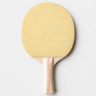 Couleur fascinante d'or raquette tennis de table