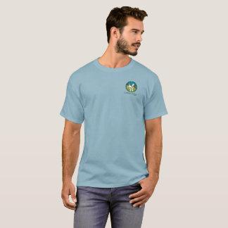 Couleur foncée de base, petit logo t-shirt