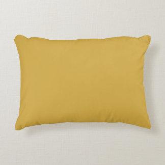 Couleur jaune de moutarde coussins décoratifs
