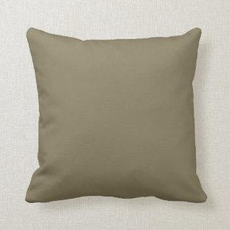 Couleur mélangée d'herbe (vert/Brown) Coussin