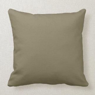 Couleur mélangée d'herbe (vert/Brown) Coussin Décoratif