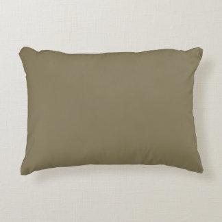 Couleur mélangée d'herbe (vert/Brown) Coussins Décoratifs