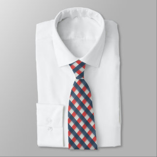 Couleur quatre combinée - bleu-foncé bleu rouge de cravate