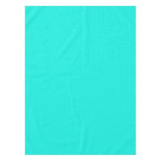 Couleur solide : Aqua lumineux Nappe
