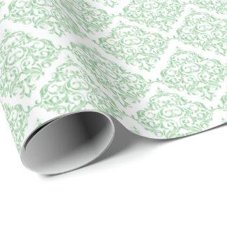 Couleur verte en bon état d'arrière - plan du papier cadeau