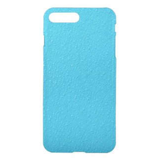 Couleurs à la mode au néon bleues lumineuses coque iPhone 7 plus