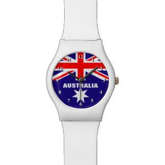 Couleurs australiennes de la montre | de drapeau d montres