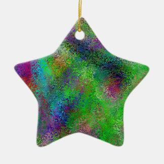 Couleurs crayeuses - résumé coloré lumineux décoration de noël