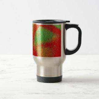 Couleurs créatives d'art de rue de peinture d'art mug de voyage en acier inoxydable