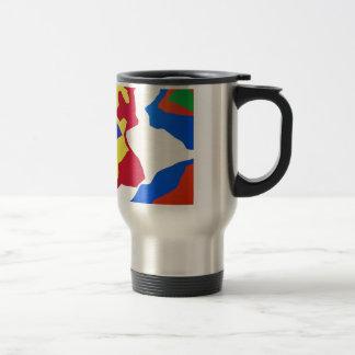 Couleurs créatives d'art de rue de peinture d'art  tasses à café