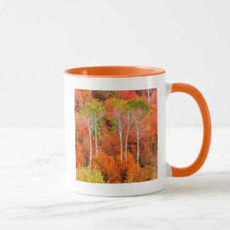 Couleurs d'automne en montagnes rocheuses, mug
