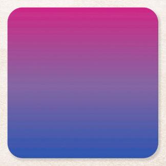 couleurs de Bi Dessous-de-verre Carré En Papier