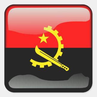 Couleurs de l'Angola Sticker Carré