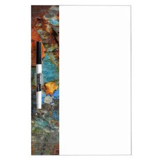Couleurs de rouille/de Rost-Art Tableau Blanc Effaçable À Sec