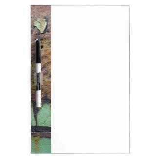 Couleurs de Rust_715, Rouille-Art Tableaux Effaçables Blancs