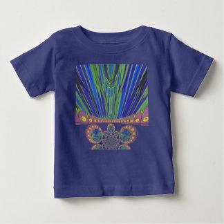 Couleurs décoratives africaines de conception t-shirt pour bébé