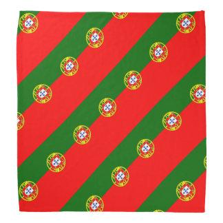Couleurs portugaises du bandana | de drapeau du