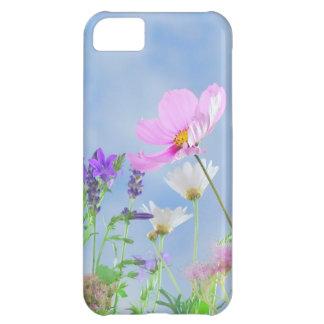 Couleurs sensibles de jolies fleurs coque iPhone 5C