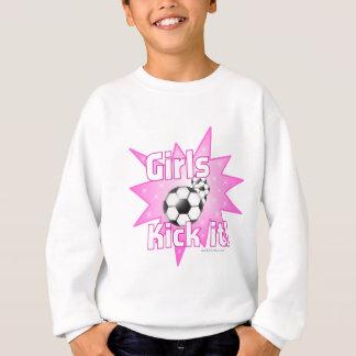 Coup-de-pied de filles il sweatshirt