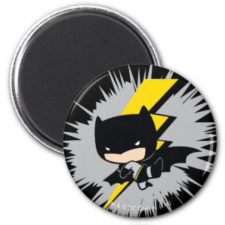Coup-de-pied de foudre de Chibi Batman Aimant
