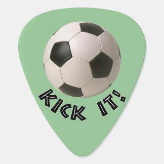 coup-de-pied du ballon de football 3D il Onglet De Guitare