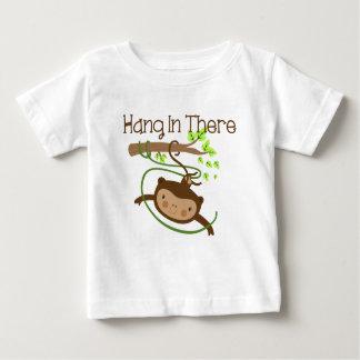 Coup de singe dedans là t-shirt pour bébé