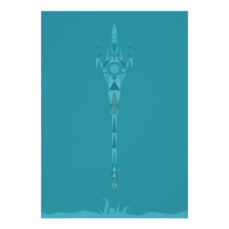 COUP VIOLENT - Poseidon - Dieu des océans Posters