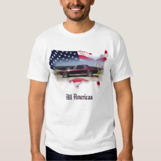 Coupé de 68 mustangs tout américain t-shirts