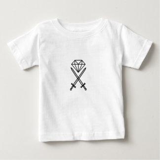 Coupe de diamant t-shirt pour bébé