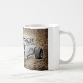 Coupé de hot rod mug