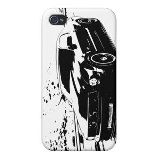 Coupé du GT de mustang de Ford Coque iPhone 4
