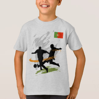 Coupe du monde de défenseur d'équipe du Portugal T-shirts