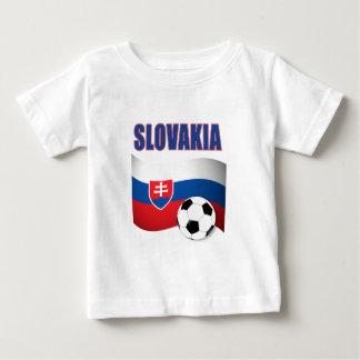 coupe du monde du football du football de la t-shirt pour bébé
